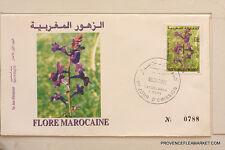 MAROC premier jour d emission  FLORE MAROCAINE    2002  MA40