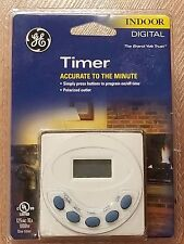 New Ge Digital Indoor Timer Ge5115P 24-Hour Sealed A1.6