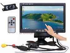 """7"""" LED VGA AV POS Touch Screen TFT LCD Monitor Rear View Night Vision Camera US"""