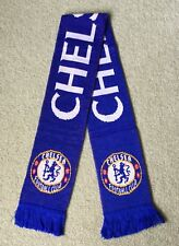 CHELSEA FC  Scarf Brand New Good Size Great Quality Knitted Scarf