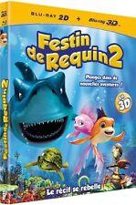 Blu Ray 3D + Blu Ray 2D  //   FESTIN DE REQUIN 2   //  NEUF cellophané