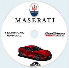 Workshop Manual,manuale officina Maserati Granturismo MC Stradale M145T