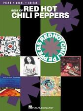 Best of Red Hot Chili Peppers Piano/Vocal/Guitar Artist Songbook