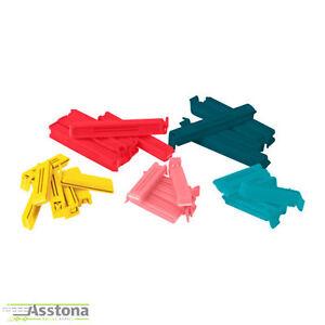 IKEA Bevara Frischhalteclips 30 Stück Verschlussklemmen  Gefrierbeutel