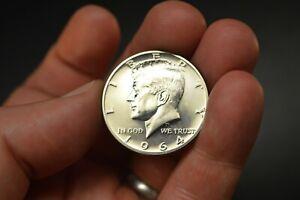 1964 Brilliant Uncirculated Proof Kennedy Silver Half Dollar US Coin