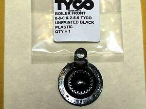 0-8-0 & 2-8-0 TYCO BOILER FRONT, UNPAINTED BLACK PLASTIC FACTORY ORIGINAL PART