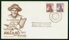 Mayfairstamps Ireland 1957 Staehle Tomas O'Criomhthain Islandman First Day Cover