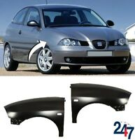 NEW SEAT IBIZA 6L 2002 - 2008 FRONT WING FENDER LEFT N/S RIGHT O/S PAIR SET