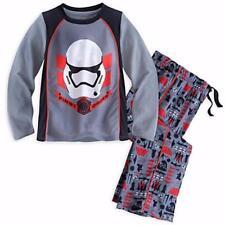 DISNEY STORE Little Boy's 5/6 Star Wars STORMTROOPER Pajama Set NWT
