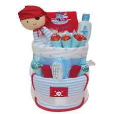 Nappy Cake New Born Baby Boy Little Pirate Premium