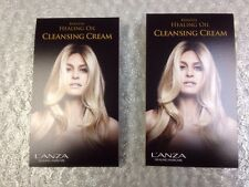 Lanza Healing Healing Oil Cleansing Cream 2 SAMPLE TRAVEL PACKETS