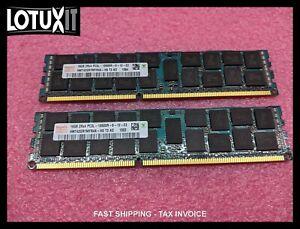 32GB Hynix (2x 16GB) 2Rx4 PC3L-10600R DDR3 Server RAM HMT42GR7MFR4A PC3