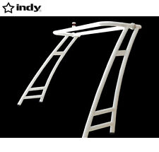 Indy Max forward facing boat wakeboard tower pure white coated easy install