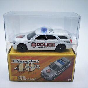 """MATCHBOX"" SUPERFAST 40th Anniversary **No.7 DODGE MAGNUM POLICE WAGON** MIB"