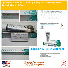 Opalescence Whitening Toothpaste Sensitivity Relief Fluoride Cool Mint 4.7 oz