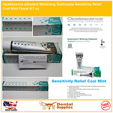 Отбеливающая зубная паста Opalescence чувствительность облегчение фторид прохладной мяты 4.7 унций (примерно 133.24 г.)