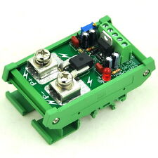DIN Rail Mount +/-150Amp AC/DC Current Sensor Module, based on ACS758