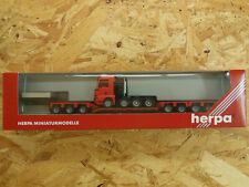 @@ Herpa MAN TG-A Schwerlastzug Nr.147644 ,1:87 in OVP