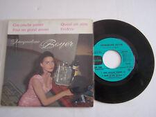 EP 45 T VINYL 4 TITRES , JACQUELINE BOYER , COU COUCHE PANIER . VG - / VG +