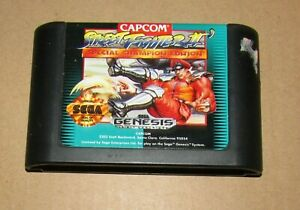 Street Fighter II Special Champion Edition for Sega Genesis Fast Shipping!