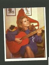 Mirna Doris with Red Guitar #98 Scarce 1972 Pop Rock Music Card from Italy