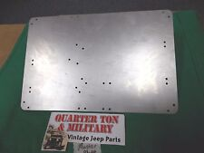 Jeep Willys M38 M38A1 M170 Master Data plate mounting plate for dash (P80)