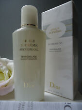 DIOR SUPREME OIL Makeup Remover 200ml Ideal for Budgeproof Waterproof Makeup New