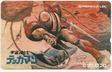 TEKKAMAN SPACE KINIGHT JAPAN PHONECARD TATSUNOKO PRO ANIME ROBOT SF PIONEER LDC