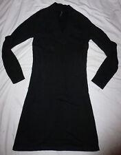 Robe Dress LADYSOUL lady soul goth rock metal dark mercredi addams XS