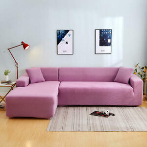 Jacquard Sofa Covers Spandex Stretch Slipcover Oversized Durable Furniture Cover