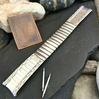 1960s/1970s Stainless Steel New Old Stock Vintage Watch Band 11/16""