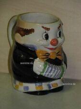 +# A000734_02 Goebel Archiv Malmuster Bierkrug Krug Clown Harlekin 74-011 Plombe