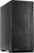 Midi Tower F-762 Silencer ATX USB3.0, schwarz, ohne Netzteil