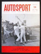 RIVISTA AUTOSPORT 25 AGOSTO 1961-il TOURIST TROPHY relazione, NUOVI MODELLI MERCEDES