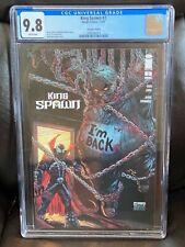 King Spawn #2 Todd McFarlane Variant Cover B 1st Print CGC 9.8