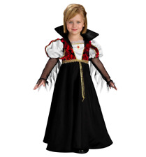 New Girl's Royal Vampire Costume Size Child Small 4-6 by Rubies