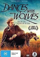 Dances With Wolves Collectors Edition (DVD, 2018, 3 Disc Set)