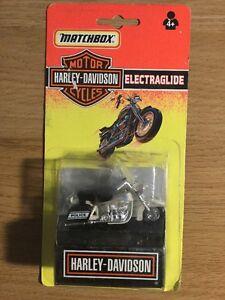 Vintage 1992 Matchbox Motor Cycles Harley Davidson On Card In Blister