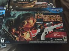 Cabela's 6 Game Collection & Gun Bundle PS3 NEW