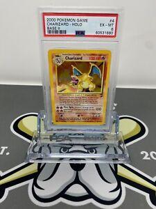 2000 Pokemon Base Set 2 Charizard Holo #4 PSA 6