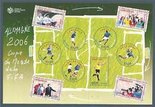 BLOC FEUILLET N°97 - COUPE DU MONDE DE FOOT 2006