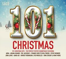 101 Christmas by Various Artists (CD, Oct-2017, 5 Discs, Spectrum Music (UK))