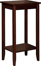 Rosewood Tall End Table Night Stands For Bedrooms Bedside Office Living Room