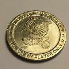 O'Sheas Casino Vintage $1 Coin Gaming Token Las Vegas Nevada
