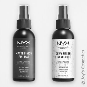 "2 NYX Makeup Setting Spray ""MSS 01+02"" Matte/Dewy Finish (Long Lasting)  *Joy's*"
