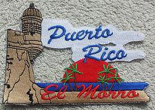 PUERTO RICO EL MORRO PATCH Cloth Badge Biker Jacket United States of America