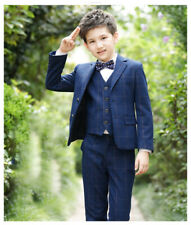 4 colors Boys Cotton Blend Blazer Wedding Jacket Smart Coat 4 colors to choose
