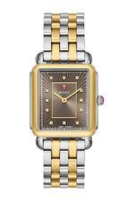 Michele Multicolor deco Ii Two-tone Diamond Accent Mww06x000033 Watch