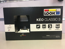 LOOK KEO Classic 3 Road Clipless Pedal (Black White)