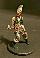 Zombicide: VIP: Punk Rocker: zombie CMoN:  Very Infected People painted